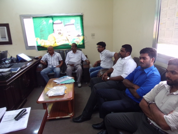 Management weekly meeting