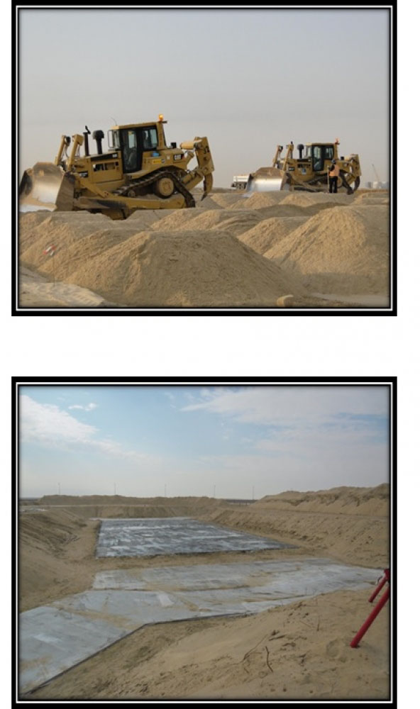Site prepare compaction & Backfilling
