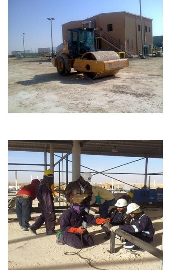 Hawiyah prep. for compacting at asphalting