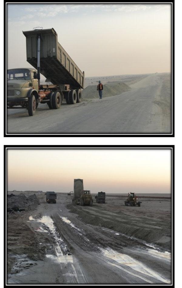 15 kilometer access road