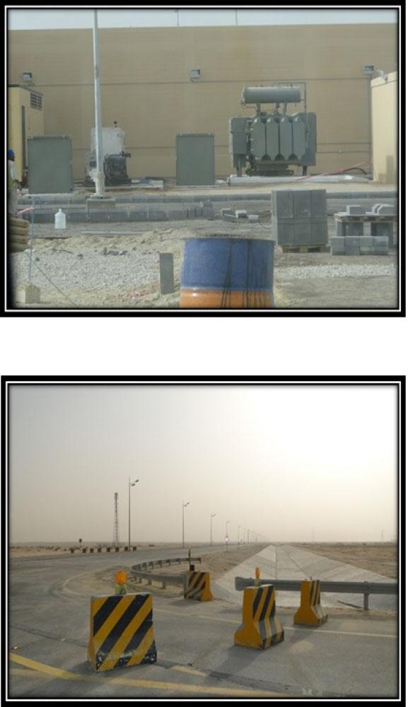 Solar power Street Lightning & electrical substation 69kv to 13.8 kv