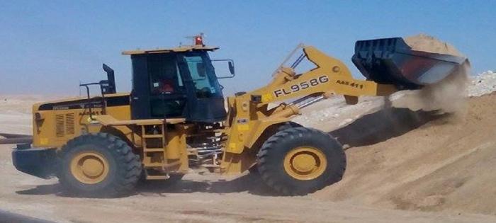 Sand loading & Sand Removal